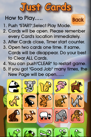 Screenshot Just Cards Free
